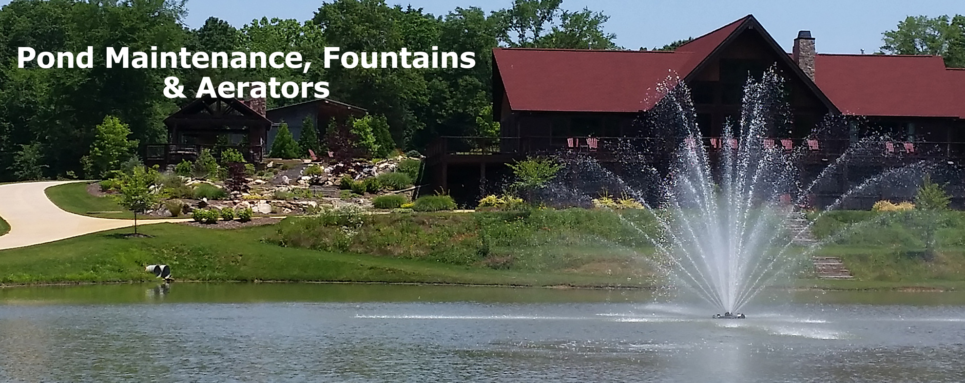 Pond Lake Management maintains ponds and lakes in North Carolina